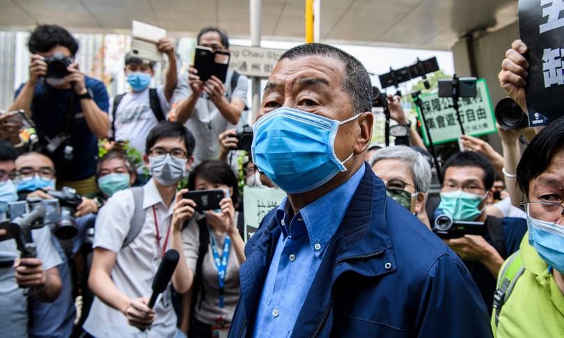 Hong Kong arrestato editore pro democrazia Jimmy Lai