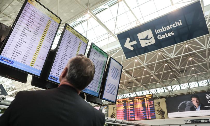 calo traffico aereo dati italia