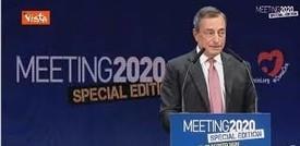 """Draghi: """"Serve pragmatismo, bisogna accettare il cambiamento"""""""