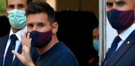 La disperazione dei tifosi per l'addio di Messi