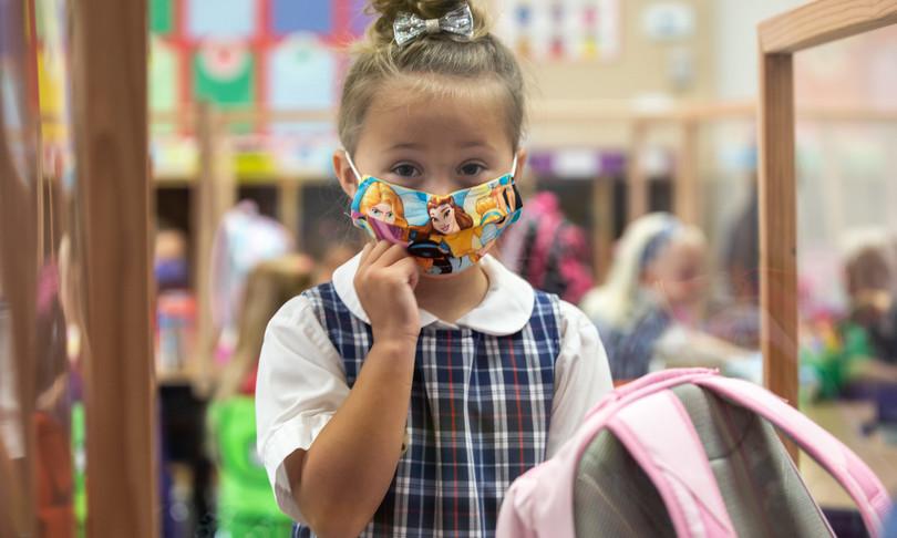 scuola rientro bambini mascherine fiducia