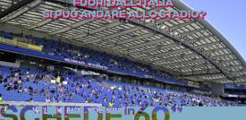 Fuori dall'Italia si può andare allo stadio?