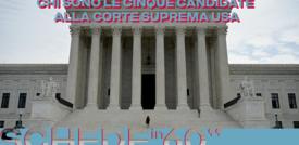 Chi sono le cinque candidate alla Corte Suprema Usa