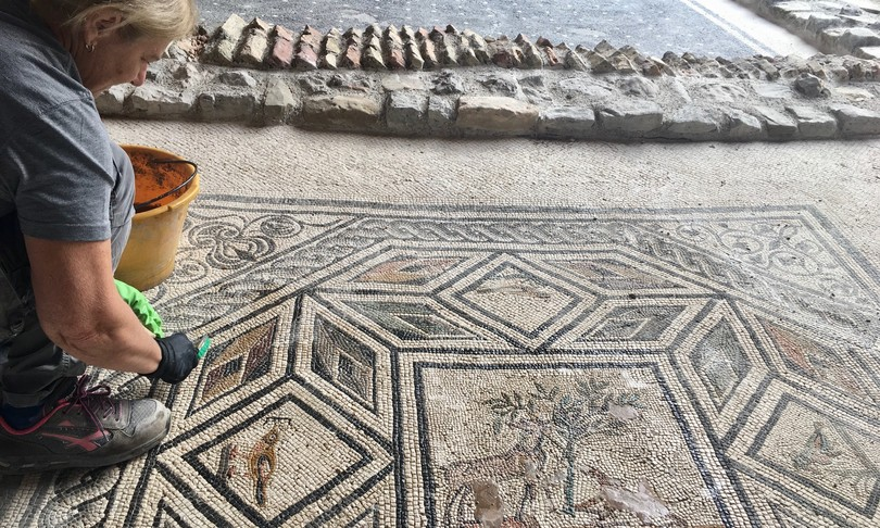 Aquileia domus Tito Macro