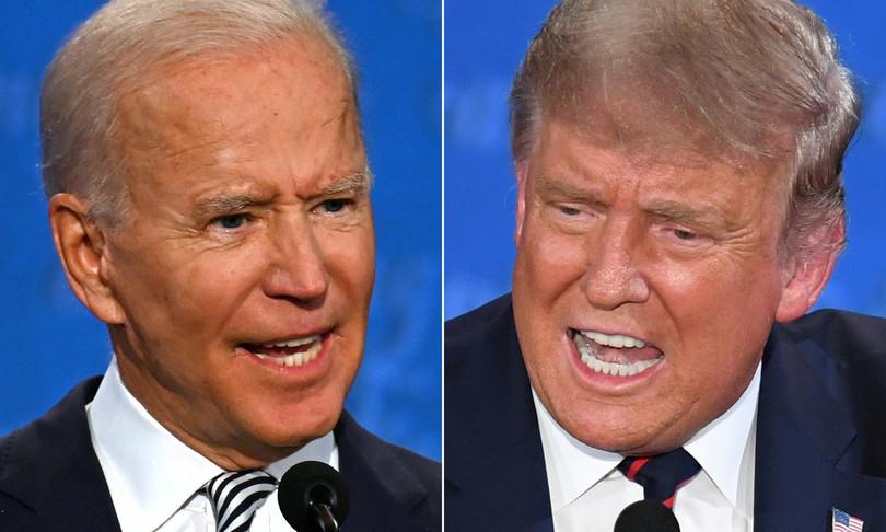 america 2020 dibattito tv trump biden insulti