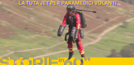 La tuta jet per paramedici volanti
