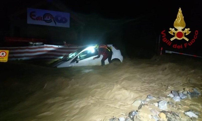allerta maltempo frane alluvioni nord Piemonte Cuneese Giuseppe Conte Sergio Mattarella