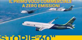 Il primo volo commerciale a zero emissioni