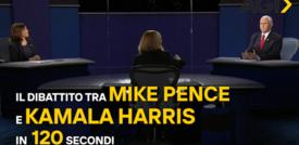Il dibattito tra Mike Pence e Kamala Harris in 120 secondi