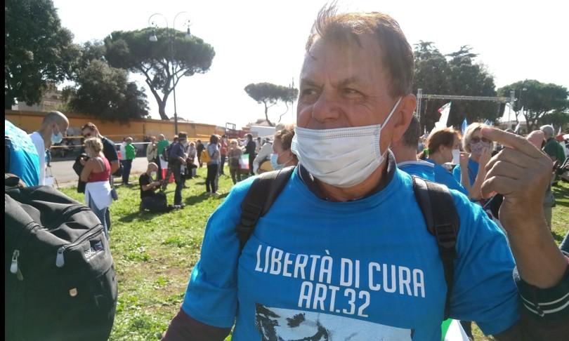 Roma marcia liberazione negazionisti