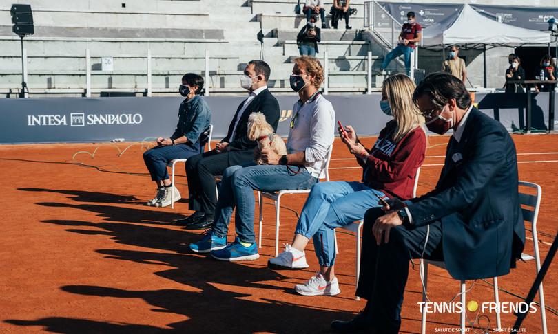 Tennis & Friends, 2000 visite mediche prevenzione gratis