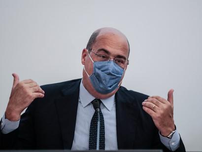 """Zingaretti a Conte: """"Un tema come il Mesnon si affronta con una battuta in conferenza stampa"""""""
