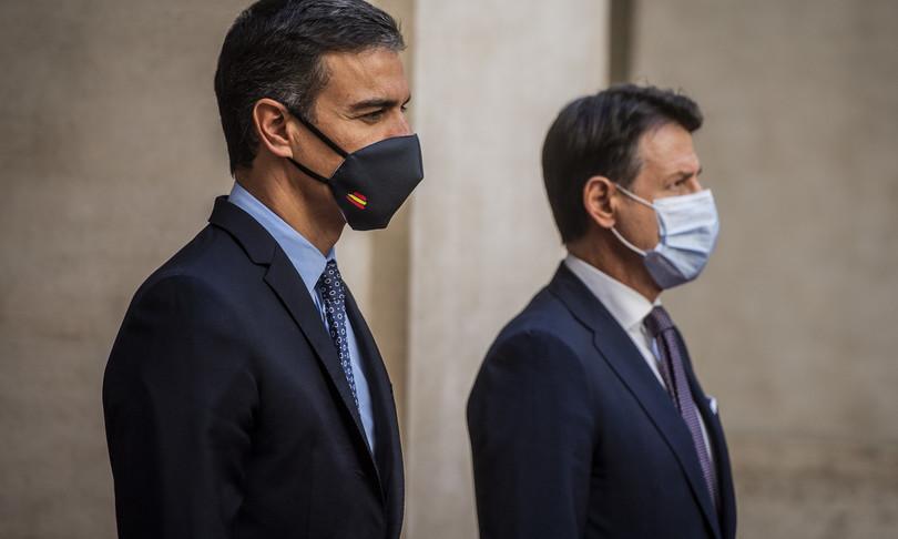 conte governo italia spagna