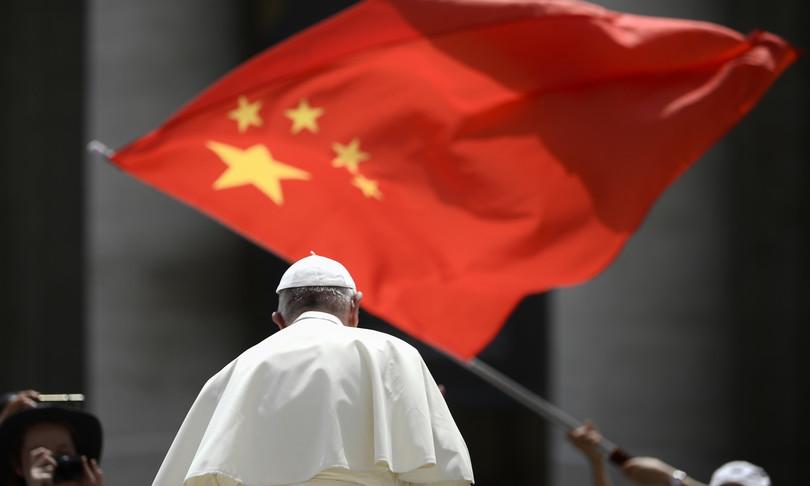 Papa Francesco Cina Cortina bambù