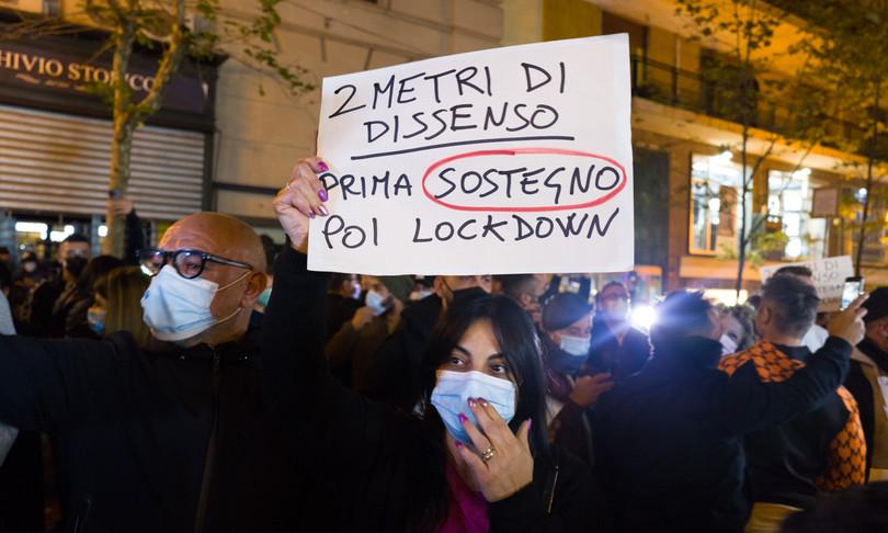 Covid proteste Dpcm