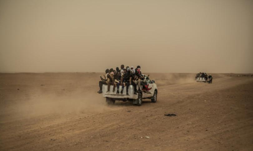 migranti diritti umani violati nord africa denuncia oxfam
