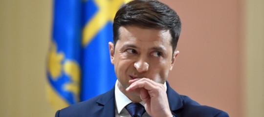 Covid Ucrainapresidente Zelenskyricoverato