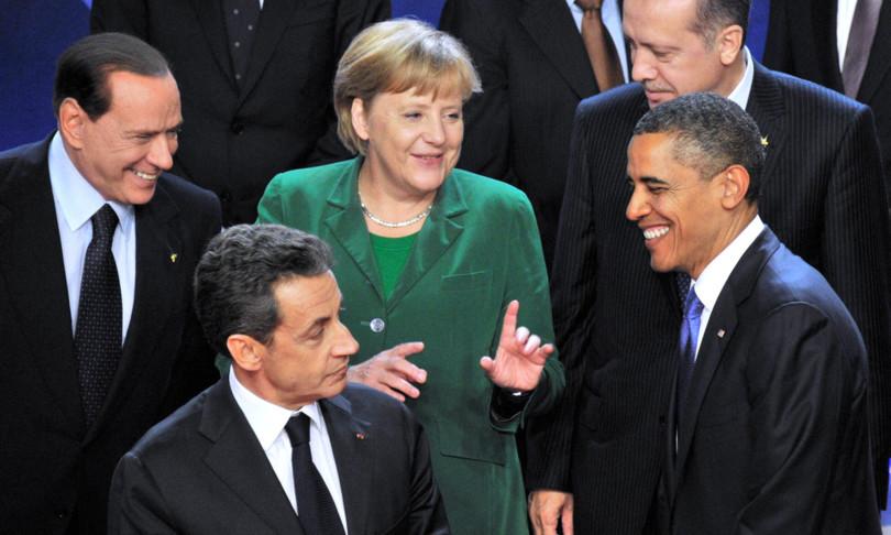 libro biografia obama sarkozy merkel libia