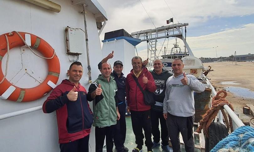 pescatori libia liberati rotta mazara