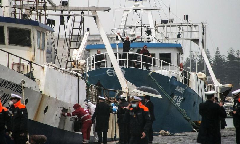 pescatori sequestratilibiasono tornati