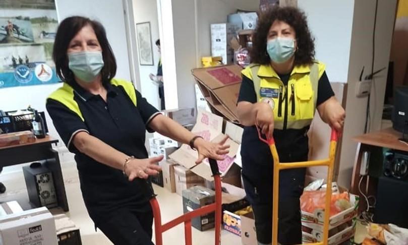 Covid:un giorno con i volontari dellaFukyo