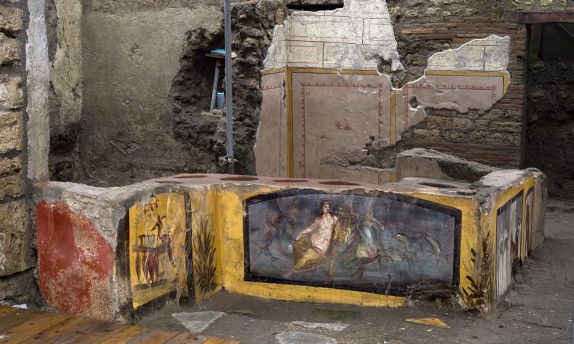 pompei scoperta termopolio intatto regio V