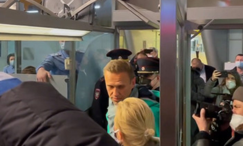Alexei Navalny arrestato