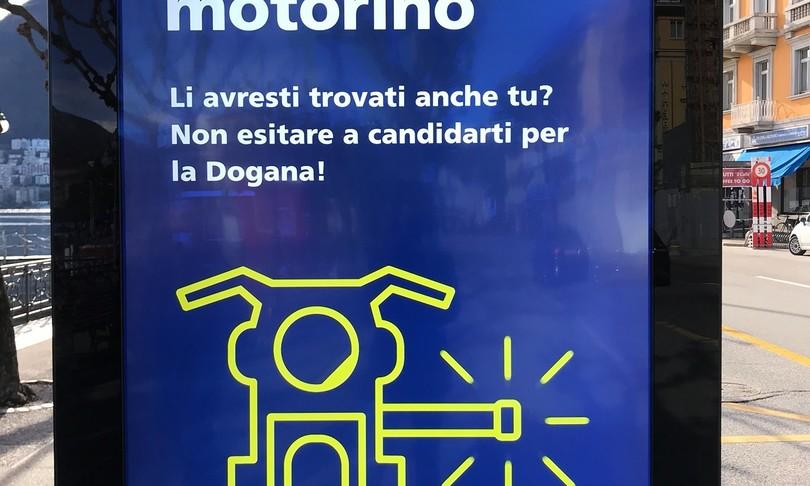 esilarante reclutamento Dogane svizzere