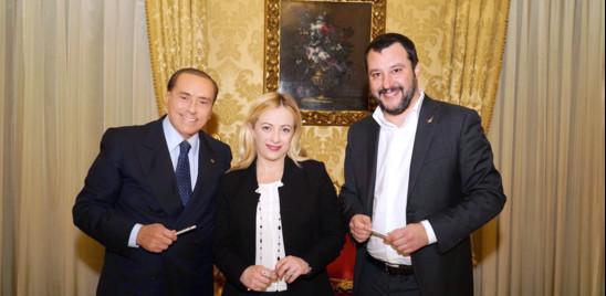 """IL CENTRODESTRA UNITO ALLE CONSULTAZIONI PER DIRE NO AL CONTE TER. SALVINI """"RIDIAMO LA PAROLA AGLI ITALIANI"""""""
