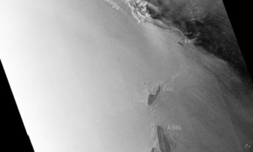 L'iceberg più grande del mondo, si è rotto