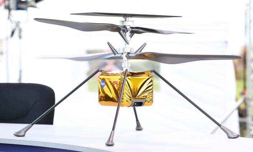 nasa mini elicottero marte ingenuity