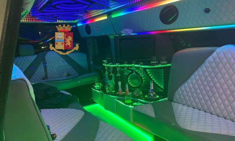 festa compleanno limousine palermo