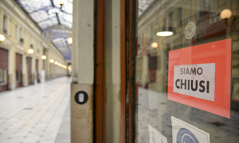 In otto anni sono spariti 77 mila negozi nelle nostre città