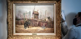 All'asta per 13 milioni una rara tela del Van Gogh 'parigino'