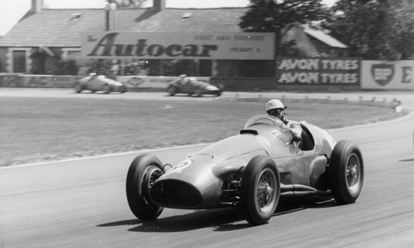 Pescara 1957 Formula 1Musso,FangioeMoss