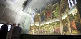 L'Adorazione dell'Agnello Mistico riemerge da dieci anni di restauro