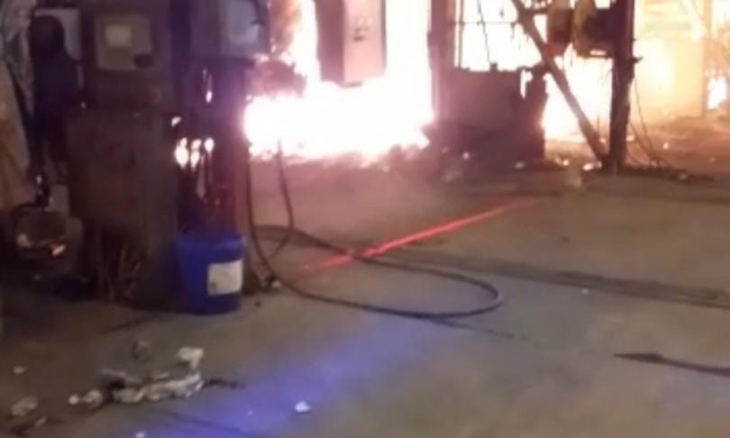 Incendio ArclorMittal Tarantonessun blocco a produzione