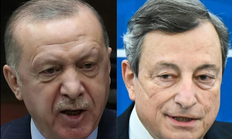 erdogan accusa draghi parole come ascia tra relazioni