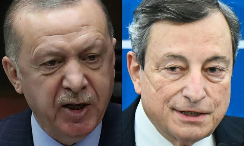 """erdogan attacca draghi """"impertinente e maleducato"""""""