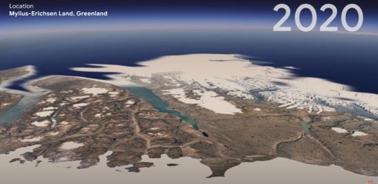 Come è cambiata la Terra, in timelapse. Grazie ai satelliti europei
