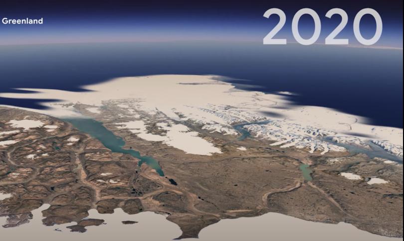 Come cambiata TerratimelapseGrazie satelliti europei