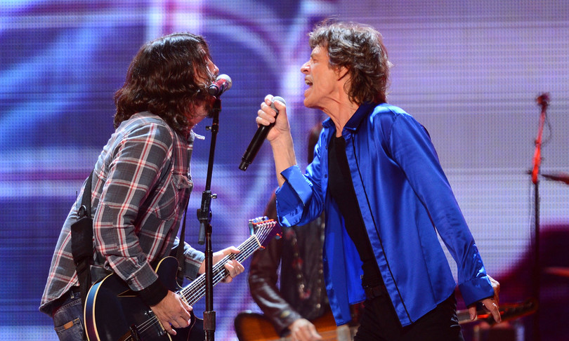 duetto Mick Jagger Dave Grohl