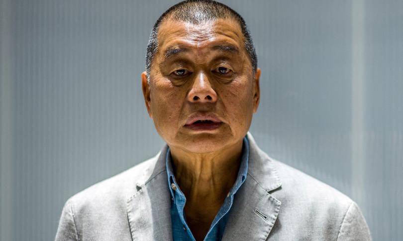 Hong Kong 14 mesi carcere Jimmy Lai