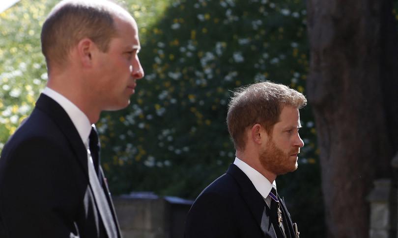 funerale principe filippo regina elisabetta harry william