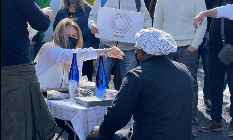 protesta ristoratori autostrada a1 ferito manifestante