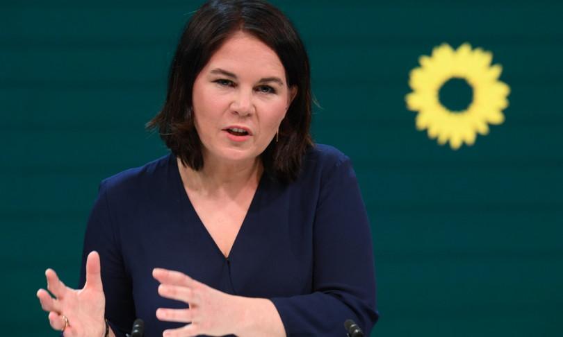Germania verde annalenaBaerbockcandidata alla cancelleria