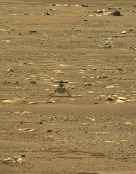 Ingenuity fa la storia, 40 secondi di volo su Marte