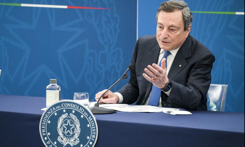 """Draghi: """"Dobbiamo ristrutturare la sanità, non sappiamo quanto durerà la pandemia"""""""
