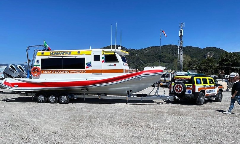 sanità ambulanza mare salerno