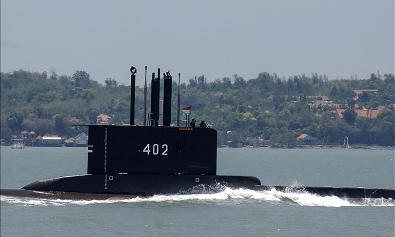 mistero sottsottomarino scomparso indonesia